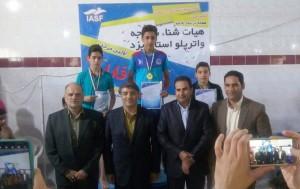 پایان پنجمین دوره لیگ شنا استان یزد
