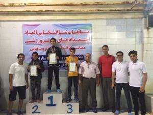 برگزاری مسابقات شنا انتخابی المپیاد استعدادهای برتر سیستان و بلوچستان