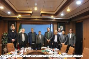 برگزاری جلسه هیات رئیسه فدراسیون شنا با تاکید بر توسعه عمومی