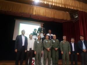 قهرمانی هوانیروز اصفهان در مسابقات شنا یگانهای نیروی زمینی ارتش