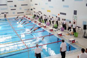 گزارش تصویری_ روز نخست مسابقات المپیاد استعدادهای برتر شنا ایران