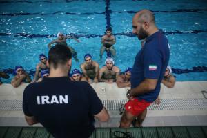 گزارش تصویری_اردو آماده سازی تیم ملی واترپلو ایران