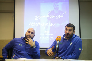 گزارش تصویری_ کنفرانس خبری الکساندر چریچ سر مربی تیم ملی واترپلو ایران