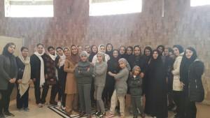 برگزاری آزمون ستارههای شنای موزون در تهران و البرز