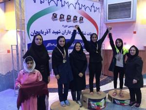 گزارش تصویری_روز اول مسابقات جام سرداران شهید آذربایجان بخش دختران