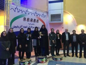 پایان مسابقات جام سرداران شهید آذربایجان بخش دختران