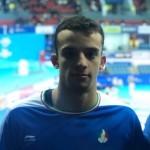 در سومین روز از مسابقات شنا مسافت کوتاه قهرمانی جهان صبح امروز (پنجشنبه) سینا غلامپور نماینده شنای ایران در ماده ۵۰ متر آزاد به کار خود پایان داد.
