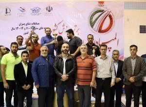 گزارش تصویری_ اختتامیه و توزیع مدال مسابقات المپیاد استعدادهای برتر شنا ایران
