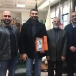 دبیر کل کمیته ملی المپیک در نشستی دوستانه سال نو میلادی را به الکساندر چیریچ سر مربی تیم ملی واترپلو ایران تبریک گفت.