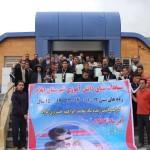 مسابقه شنا دانش آموزی استان ایلام با عنوان یادواره شادروان حاج محمد ابراهیم خسروی نژاد ويژه پسران در رده سنی (۱۱_۱۲ سال) ، (۱۳_۱۴ سال) و (۱۵_۱۷سال) برگزار شد.