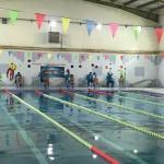 اولین دوره مسابقات شنا بین باشگاهی پسران زیر ۱۷ سال استان سیستان و بلوچستان به مناسبت گرامیداشت چهلمین سالگرد پیروزی شکوهمند انقلاب اسلامی روز جمعه (28 دی 1397)  در محل استخر جانبازان و معلولین زاهدان برگزار شد.
