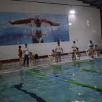 لیگ شنای پسران در رده سنی ۱۱ الی ۱۷ سال پنج شنبه (۲۵ بهمن ماه ۱۳۹۷)به میزبانی هیات شنا استان خوزستان با حضور ۱۵ تیم از سراسر استان برگزار شد.