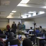 کلینیک بررسی قوانین داوری و نظارت مسابقات واترپلو صبح امروز (چهارشنبه) در سالن آموزش استخر ۹ دی آغاز شد.