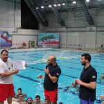 کلینیک مربیگری واترپلو زیر نظر ساویچ( سرمربی تیم ملی صربستان و قهرمان المپیک) و الکساندر چیریچ را برگزار شد.