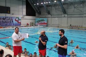 گزارش تصویری(1)_کلینیک مربیگری واترپلو زیر نظر ساویچ