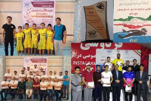 برگزاری جشنواره شنا زیر ۱۰ سال پسران در استانهای غرب و شرق کشور