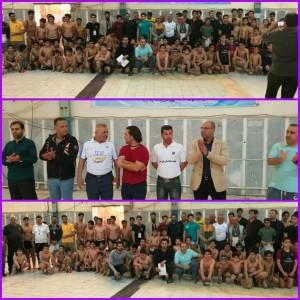 برگزاری مرحله دوم لیگ شنا منطقه اروند