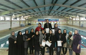 برگزاری دومین مرحله مسابقات شنا انتخابی بانوان سیستان و بلوچستان