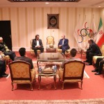 تومیسلاو کارلو دبیر فدراسیون شنای کرواسی و کوتروویچ از مربیان شنای این کشور با حضور در کمیته ملی المپیک با شاهرخ شهنازی دبیر کل دیدار و گفتگو کرد.