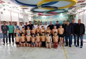 اولین مرحله استعدادیابی شنا پسران 8 الی 11 سال آذربایجان شرقی
