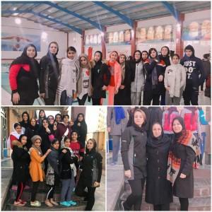برگزاری دور پایانی لیگ شنای دختران استان خوزستان