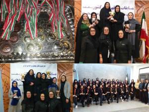 تهران به مقام نخست مسابقات قهرمانی کشور شنا بانوان رسید