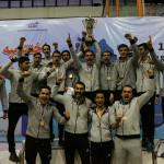 اریس اصفهان برای نخستین بار به مقام قهرمانی لیگ برتر شنا دست یافت.