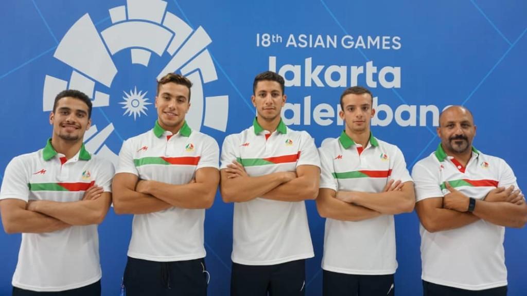 تیم ملی شنا ایران در بازیهای آسیایی جاکارتا 2018