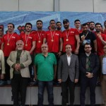 دوازدهمین دوره لیگ دسته یک واترپلو سال ۱۳۹۷ با قهرمانی تیم ملانو تهران به پایان رسید.