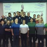 مسابقات لیگ شنای نوجوانان پسر استان خراسان رضوی پس از چهار مرحله با قهرمانی تیم ایران استرالیا به پایان رسید.