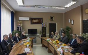 گزارش تصویری_بازدید دکتر صالحی امیری از فدراسیون شنا