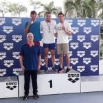 در روز چهارم مسابقات شنا بین المللی مالزی بنیامین قرهحسنلو باثبت زمان ۲۳٫۴0 بر سکوی نخست ۵۰ متر آزاد ایستاد.