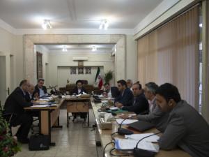 گزارش تصویری_برگزاری جلسه هیات رئیسه فدراسیون شنا
