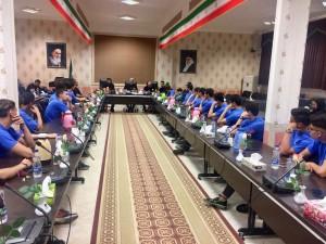 آغاز کمپ آماده سازی تیم ملی شنا در اردبیل