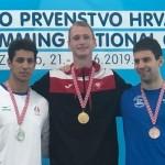 در روز دوم مسابقات بین المللی کرواسی مهدی انصاری مدال نقره ۱۰۰ متر پروانه به نام خود ثبت کردند.