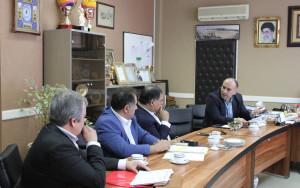 نشست مسئولان فدراسیون شنا و سازمان ورزش شهرداری برگزار شد