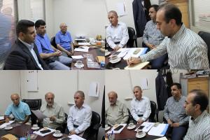 جلسه هماهنگی و برنامه ریزی مسابقات آبهای آزاد برگزار شد
