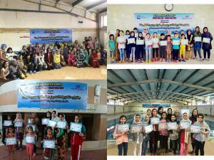 برگزاری جشنواره شنا دختران استان سیستان و بلوچستان