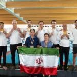 محسن رضوانی رئیس فدراسیون شنا، شیرجه و واترپلو، موفقیتهای کسب شده کاروان ورزشی ایران بویژه رشته شنا  در بازیهای جهانی کارگری اسپانیا را تبریک گفت.