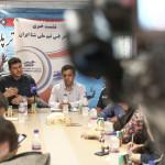 نشست خبری کادر فنی تیم ملی شنا امروز (دوشنبه) در محل سالن کنفرانس استخر بین المللی 9 دی ورزشگاه شهید شیرودی برگزار شد.