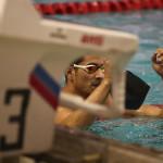 اولین دوره مسابقات شنا جایزه بزرگ بخش آقایان به میزبانی هیات شنا استان تهران در استخر قهرمانی آزادی برگزار شد.