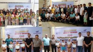 برگزاری جشنواره شنا دختران و پسران استان آذربایجان شرقی