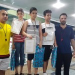 مسابقات شنا قهرمانی استان هرمزگان به مناسبت بزرگداشت روز جهانی فدراسیون بین المللی شنا  جمعه (21تیر ۱۳۹۸) در بخش پسران برگزار شد.