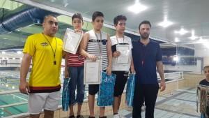 برگزاری مسابقات شنا قهرمانی استان هرمزگان