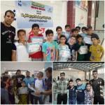 جشنواره شنا به مناسبت بزرگداشت روز جهانی فدراسیون بین المللی شنا  پسران به همت هیات شنا استان خوزستان در اهواز برگزار شد.