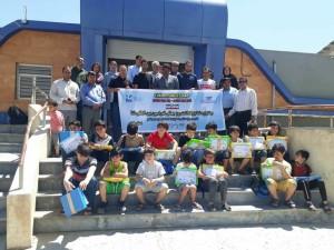 برگزاری جشنواره شنا پسران استان ایلام