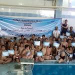 جشنواره شنا به مناسبت بزرگداشت روز جهانی فدراسیون بین المللی شنا  پسران در شهرستان مریوان کردستان برگزار شد.