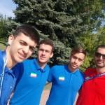 متین سهران و متین بالسینی در سومین روز مسابقات قهرمانی شنا جوانان جهان در شهر بوداپست مجارستان  به ترتیب در ماده های 50 و 800 متر آزاد به آب زدند.
