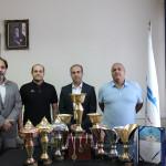 در مراسمی از کاپ و مدال های مسابقات المپیاد استعدادهای برتر شنا، شیرجه و واترپلو ایران رو نمایی شد.