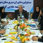 کنگره مسابقات شنای شمال شرق دختران کشور با حضور سرپرستان تیم ها، روز گذشته(شنبه) در مشهد برگزار شد.
